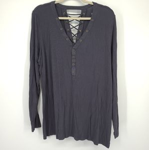 Torrid Super Soft Knits Laddee Cross Detail Shirt